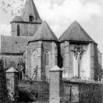 L'église (façade arrière)