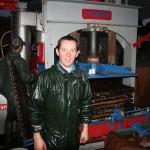 Le broyage, le pressage, la pasteurisation et la mise en bouteilles ont été réalisés par Arnaud Ansel - Ferme des prés à Doudeauville. Arnaud Ansel fabrique également du jus de pomme pour les particuliers (à partir de 100 kilos de pommes)