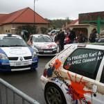 Finale du championnat de France des rallyes - Point de contrôle à Crémarest